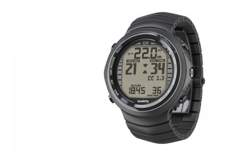 Suunto dx rebreather compatible dive computer x ray mag - Computer dive watch ...
