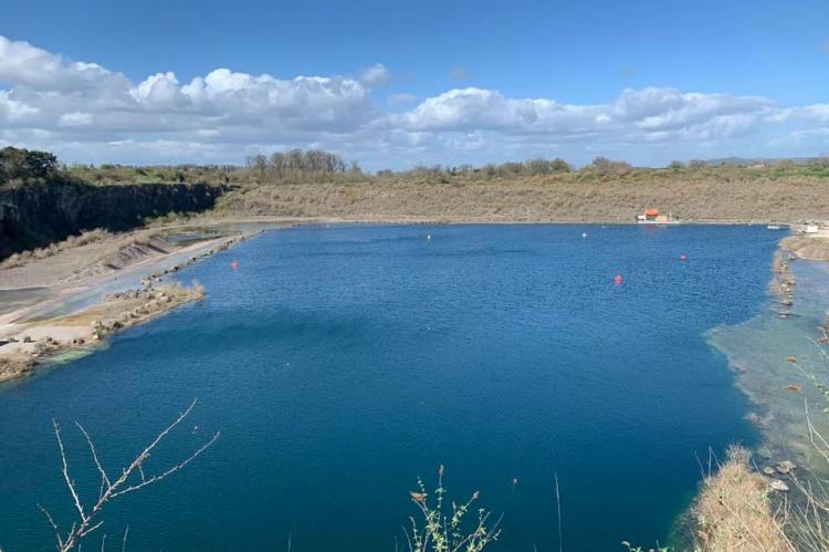 Cromhall Quarry, South West Maritime Academy, Simon Chen, Maggie Alger, Rosemary E Lunn, Roz Lunn, X-Ray Mag, XRay Magazine, scuba diving news, inland sites, quarry scuba diving
