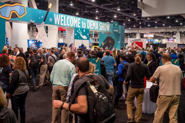 DEMA Show, 2019, Orlando, Rosemary E Lunn, Roz Lunn, Tom Ingram, Dan Orr, X-Ray Mag, XRay Magazine, scuba diving news, dive industry news