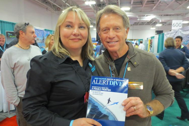Stephen Frink, ISDHOF, international Scuba Diving Hall of Fame, X-Ray Mag, XRay Magazine, Rosemary E Lunn, Roz Lunn, scuba diving awards, NOGI Award