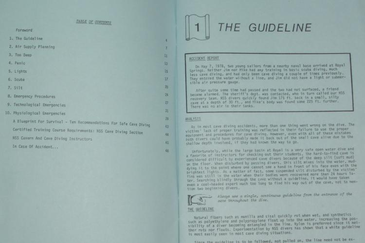Sheck Exley, Blueprint for Survival, cave diving rules, NSSCDS, Rosemary E Lunn, Roz Lunn, X-Ray Mag, XRay Magazine, scuba diving safety, cave diving safety
