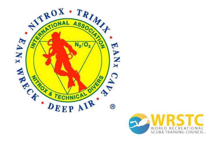 IANTD, NAUI, PADI, PDIC, RAID, SDI, SNSI, SSI.  International Association of Nitrox and Technical Divers, Recreational Scuba Training Council, Dick Rutkowski, Tom Mount, Billy Deans, Kevin Gurr, Richard Bull, Rob Palmer, RSTC, Rosemary E Lunn, Roz Lunn, X-Ray Mag, XRay Magazine, scuba diving news