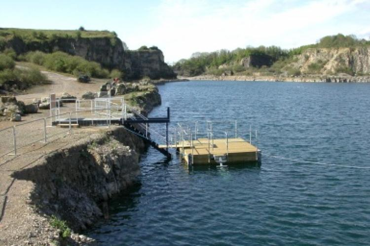 Cromhall Quarry, UK dive site, inland site, Rosemary E Lunn, Roz Lunn, X-Ray Mag, XRay Magazine, scuba diving news