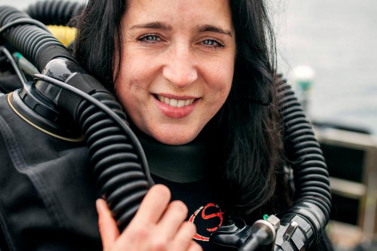 Emily Turton, Scapa Flow, dive boat skipper, rebreather diver, Rosemary E Lunn, Roz Lunn, Explorers Club Fellow, scuba diving news, Marjo Tynkkynen, International Womens Day