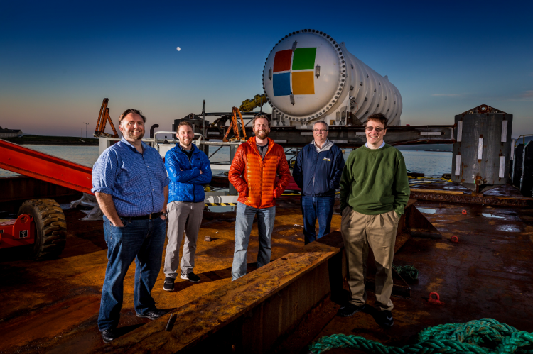 Project Natick, Mike Shepperd, Samuel Ogden, Spencer Fowers, Eric Peterson, Ben Cutler, Rosemary E Lunn, Roz Lunn, X-Ray Mag, XRay Magazine, Microsoft, Scapa Flow, underwater data centre