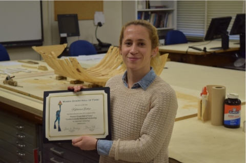 Katarina Batur, Cecelia Connelly Memorial Graduate Scholarship, Marine Archaeology, WDHOF Scholarship, Women Divers Hall of Fame Grants, Rosemary E Lunn, Roz Lunn, X-Ray Mag, XRay Magazine, scuba diving news