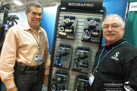 Harry Ward, SEAC USA, Scubapro, Peter A Hughes, Beneath The Sea Show, Rosemary E Lunn, Roz Lunn, The Underwater Marketing Company, XRay Mag, X-Ray Magazine, NOGI Awards