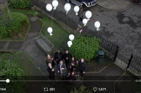 Eastenders, Tony Hall, Director General BBC, balloon release, Blue Planet II, Rosemary E Lunn, Roz Lunn, X-Ray Magazine, XRay Mag,