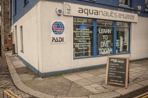 Aquanauts, Plymouth, scuba diving job, The Underwater Marketing Compay, X-Ray Mag, XRay Magazine, Ghost Fishing UK, Noeleen Smith, PADI Dive Centre, Devon