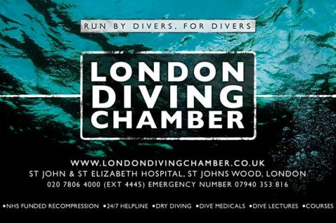 London Diving Chamber, Rosemary E Lunn, Roz Lunn, X-Ray Mag, XRay Magazine, diving chamber closes, hyperbaric medicine, Dawn Kernagis, Rick Stanton, scuba diving news