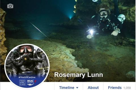 ThisGirlCan, ThisGirlCanDive, Rosemary E Lunn, Roz Lunn, Mary Tetley, Debbie Powell, BSAC, British Sub Aqua Club, X-Ray Mag, XRay Magazine, scuba diving news, female scuba divers, GTS, girls that scuba, WDHOF, Women Divers Hall of Fame