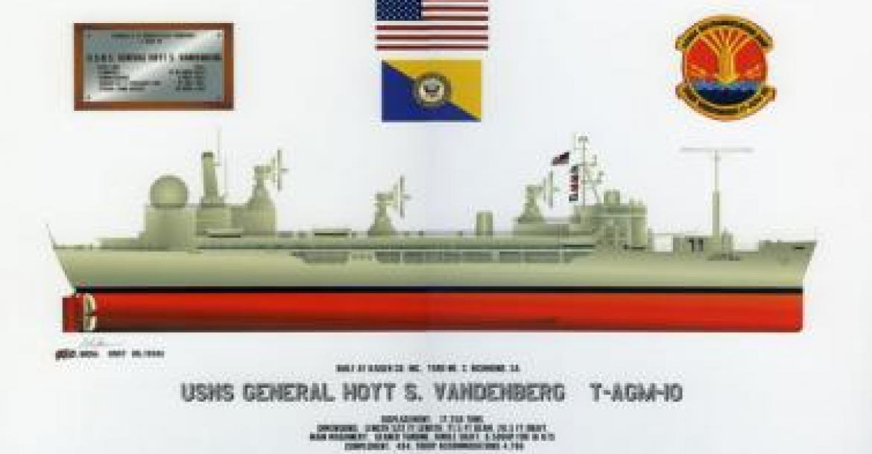 Sketch of USS Hoyt Vandenberg