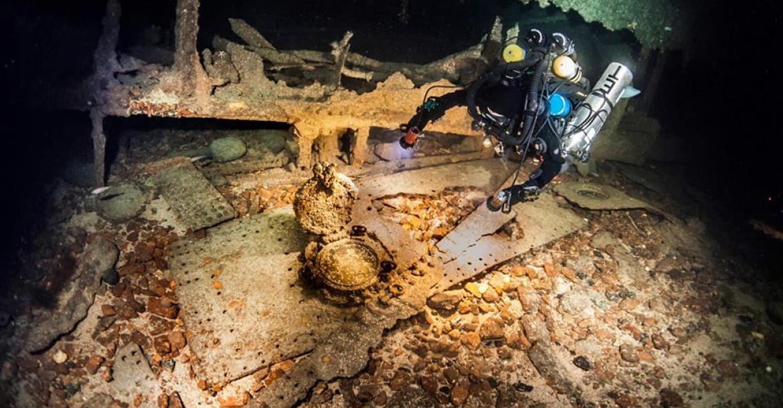 Marjo Tynkkynen, HMS Hampshire, HMS Vanguard, Emily Turton, Immi Wallin, International Shipwreck Conference, Rosemary E Lunn, Roz Lunn, The Underwater Marketing Company