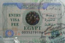 Egypt Visa, Rosemary E Lunn, Roz Lunn, X-Ray Mag, XRay Magazine, scuba diving in Egypt