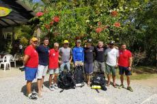 Edd Sorenson, Mike Young, cave diving rescue, Dudú Lagoon,  Dominican Republic Speleological Society, DRSS, Rosemary E Lunn, Roz Lunn, X-Ray Mag, XRay Magazine, cave diving news, scuba diving,