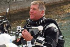 Cave explorer, Edd Sorenson, Chris Richardson