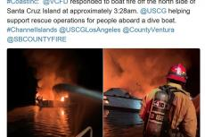 Conception Dive Boat Fire, California, US Coast Guard, Ventura County, Santa Cruz Island, Rosemary E Lunn, Roz Lunn, X-Ray Magazine, scuba diving news
