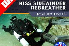 KISS Rebreathers, EUROTEK, Rosemary E Lunn, Roz Lunn, British Cave Rescue Council, BCRC, fundraising raffle, technical diving,