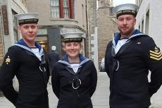 Leading Diver Ryan Haigh, Leading Diver Robert Scally, Able Seaman Katherine Sutherst, Royal Navy Northern Diving Team, ccr, closed circuit rebreather divers, clearance divers, Rosemary E Lunn, Roz Lunn, X-Ray Mag, XRay Magazine, scuba diving news, Scapa Flow, Scapa 100, SMS Dresden