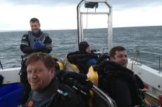 Steve Slater, Mark-Dixon, Darkstar, HMS Nottingham, Rosemary Lunn, Roz Lunn, X-Ray Mag_XRay-Magazine, Andrea Doria death, Jeff Cornish, Ric Waring