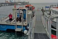 Swanage Diver, Divers Down, Rosemary E Lunn, Roz Lunn, BSAC, UK dive boats, charter boat skippers