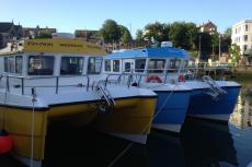 Weymouth Harbour, Rosemary E Lunn, Roz Lunn, XRay Magazine, X-Ray Mag, Portland, Dorset, Lyle Stantiford, Supernova II, scuba diving news, Professional Boatmans Association
