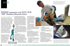 Bill Hamilton, Sheck Exley, Neal Pollock, UHMS, diving research grant, decompression models, dive computer, scientific diving research, Rosemary E Lunn, Roz Lunn, XRay Mag, X-Ray Magazine