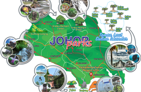 Johor at the tip of peninsular Malaysia have several spectacular national parks.