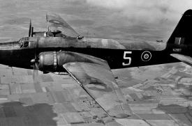 A Vickers Wellington Mk.IA flying over England in June, 1943