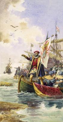asco da Gama lands at Calicut, May 20, 1498.