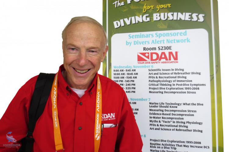 Dr Richard D Vann, Dick Vann, Rosemary E Lunn, Roz Lunn, X-Ray Mag, XRay Magazine, scuba diving awards, AUAS, NOGI Awards, diving science, flying after diving, rebreather forum 3, RF3, Neal W Pollock, Simon J Mitchell