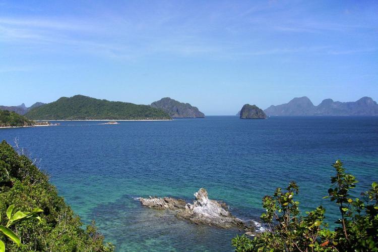 The Bacuit archipelago of El Nido