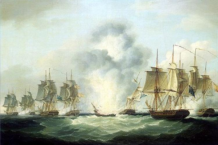 Nuestra Señora de las was a Spanish frigate which was sunk by the British off the south coast of Portugal on 5 October 1804