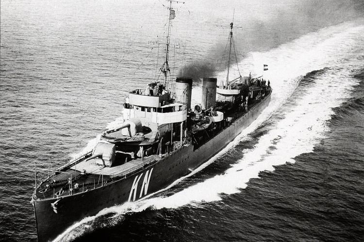 HNLMS Kortenaer. Admiralen-class destroyer, Royal Netherlands Navy, Maritime Executive, Java Sea, Rosemary E Lunn, Roz Lunn, X-Ray Mag, XRay Magazine, maritime-executive, Prince of Wales, HMS Repulse