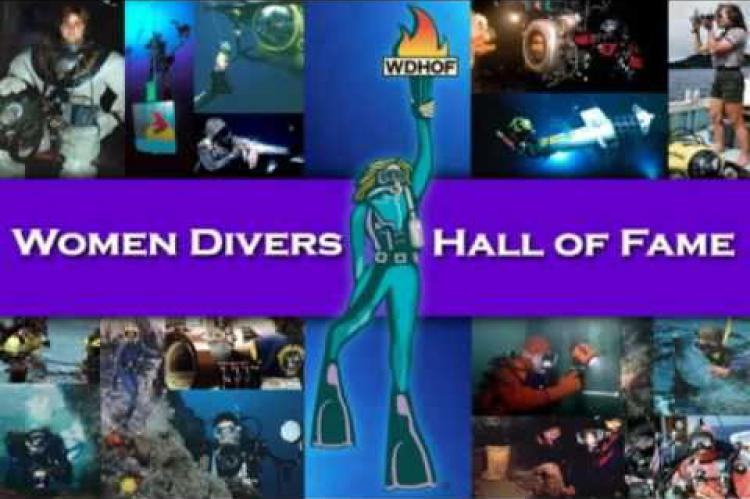 Women Divers Hall of Fame, WDHOF, Scuba Diving Awards