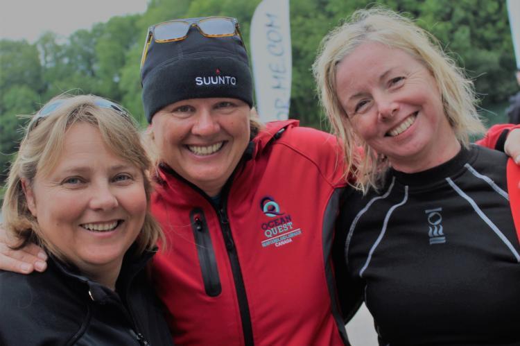 Jill Heinerth, Rosemary E Lunn, Roz Lunn, Vikki Batten, PADI Womens Dive Day, Into the planet, autobiography, scuba diving news, X-Ray Mag, XRay Magazine