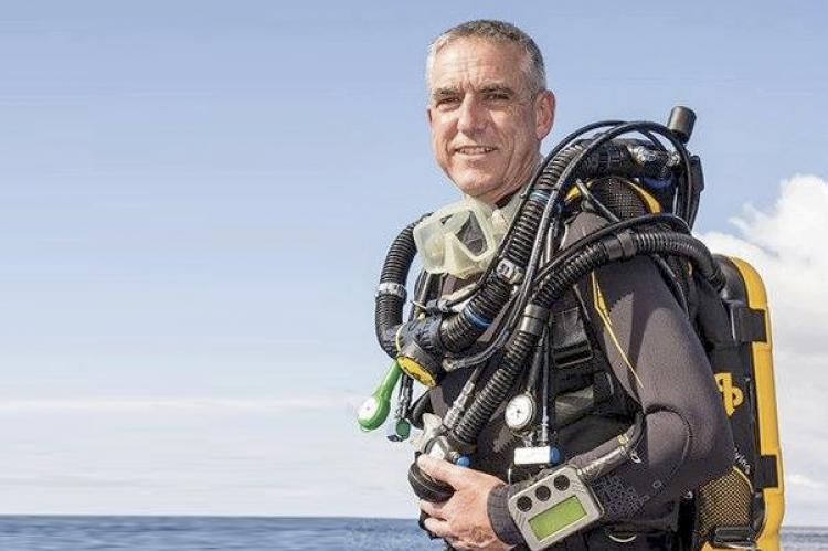 Terry Fisher, AP Diving, Inspiration rebreather, Martin Parker, Nicky Finn, Evolution rebreather, Jeff Parker, Rosemary E Lunn, Roz Lunn, X-Ray Mag, XRay Magazine