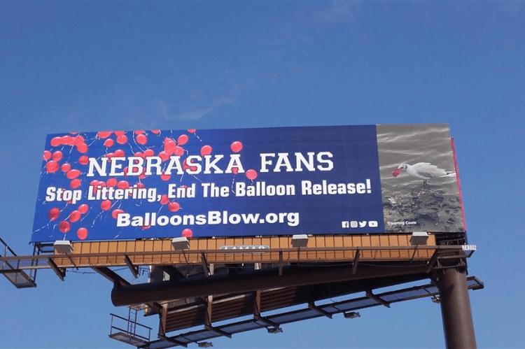 University of Nebraska, Nebraska Athletic Department, litterbugs, adulting, balloons blow, Rosemary E Lunn, Roz Lunn, X-Ray-Mag, XRay Magazine,