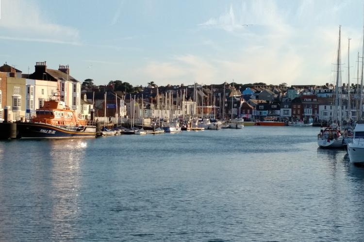 Weymouth Harbour, Rosemary E Lunn, Roz Lunn, XRay Magazine, X-Ray Mag, Portland, Dorset, Lyle Stantiford, Supernova II, Professional Boatmans Association, scuba diving news