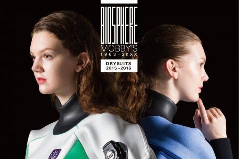 Mobby's Drysuits, Rosemary E Lunn, X-Ray Magazine, scuba diving job