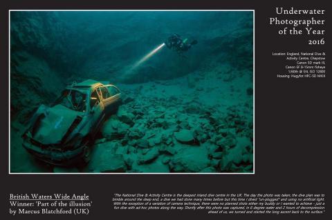 Marcus Blatchford, Underwater Photographer of the Year, X-Ray Mag, Rosemary E Lunn