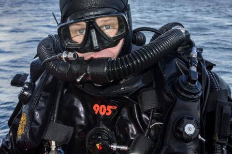 Stolen laptop, Schenker laptop, computer, Scapa 100, Scapa Flow, technical diving, Kari Hyttinen, HMS Royal Oak