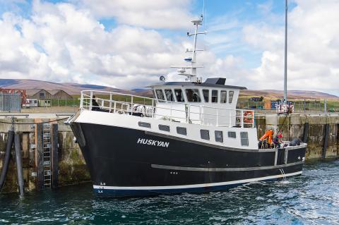 Dive Scapa Flow, RAID, James Rogers, MV Huskyan, Rosemary E Lunn, Roz Lunn, Paul Haynes, Rod McDonald, X-Ray Mag