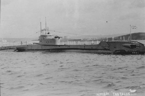 HMS P311 sister ship HMS Tantalus