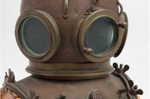 Diving Helmet, Auction, CE Heinke & Co, Rosemary E Lunn, X-Ray Mag