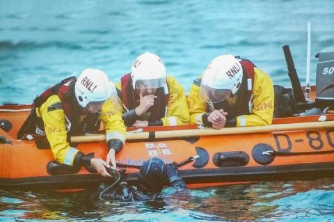 RNLI, Resue Diver, Rosemary E Lunn, Roz Lunn, Nick Fecher, scuba diving safety, X-Ray Mag, XRay Magazine, scuba diving news
