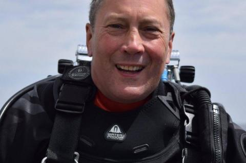 Tim Saville, HMHS Britannic, St Abbs Lifeboat, Rosemary E Lunn, Roz Lunn, XRay Mag, X-Ray Magazine, scuba diving news, X-CCR rebreather
