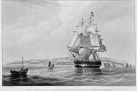 Viscount Melbourne ca 1841 William John Huggins (artist & publisher) Charles Rosenberg (engraver)