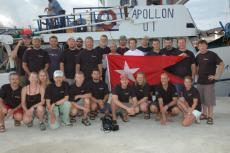HMHS Britannic, 2006 Expedition, John Chatteron, Richie Kohler, Martin Parker, Rosemary E Lunn, Roz Lunn, Brad Matsen, X-Ray Mag, XRay Magazine, scuba diving news