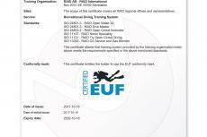 RAID, Stefano Stolfa, EUF, ISO standards, scuba diving training standards, Rosemary E Lunn, Roz Lunn, X-Ray Mag, XRay Magazine, scuba diving news, Paul Toomer, James Rogers